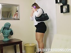 Taboo Passions - MILF Mom Madsin Lee gets Facial