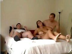 Amateur - Nice Mature Homemade MMF Threesome