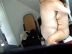 Hidden cam catches my mom having fun with guy friend