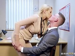 Brazzers - Hot Ample Tit Boss Wants Some Xxl Cock
