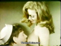 Girlfriend's Fellate Mouth Cumshot (1960s Vintage)