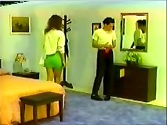 mate in pants spanked by tall molten brunette hair!