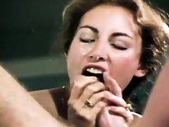Loni Sanders Best Vintage Blowjob-Deepthroat