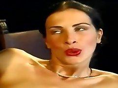 Ass Fucking... Sexy Slim Italian Stunner Wambammed On Stage... Vintage