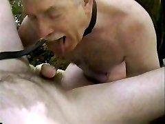 Gay Older Men Bondage in the Woods -S11