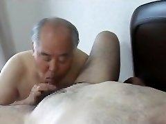 Japanese elder man