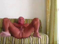 Smooth Sexy Dad Beats Off