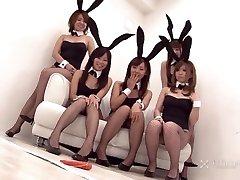 Chinese Bunny Orgy (Uncensored JAV)