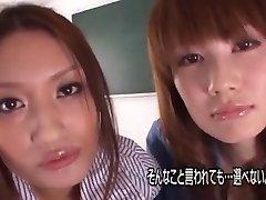 Mischievous Japanese model Kurumi Wakaba, Erika Kirihara, Ayaka Tomada in Amazing Threesomes, Big Boobies JAV vignette