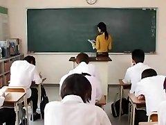 Maria Ozawa-steamy teacher having sex in college