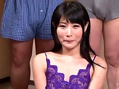Subtitled Japanese gokkun gulping soiree with Chigusa Hara