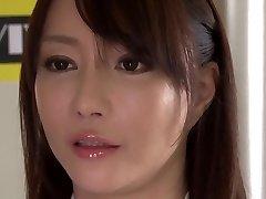 Mischievous Japanese model Kotone Kuroki in Incredible big tits, rimming JAV movie