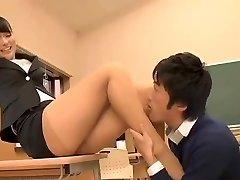 美丽的日本的老师