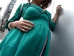 cenzēts skaistu āzijas grūtniece meitene dzimums