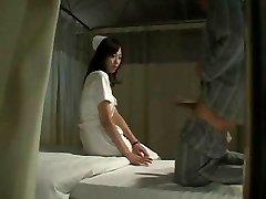 Hot Japanese Nurse Porks Patient