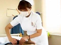 Handsome Japanese model Megu Fujiura in Best Nurse, Big Bosoms JAV video