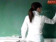 Super-hot japanese teacher