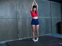 Small tittied Asian hoe Marica Hase gets pounded and punished in the bdsm room