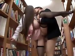 Shy Buxomy Librarian Put On Her Jap A Knees