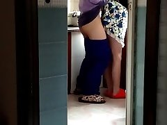 Chinese Cougar in the Kitchen (to Begin).MP4