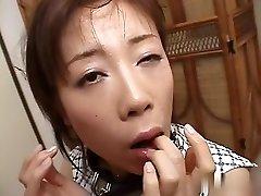 Best Japanese girl in Mischievous JAV uncensored Blowjob video