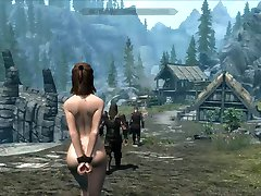 Perils of escaped Skyrim slavegirl 19