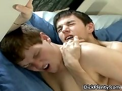 Nasty teen twink couple blowing tube part4