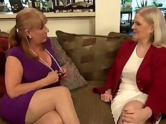 two steaming lesbi-moms