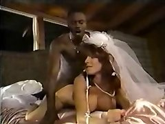 White Bride Black Man-meat