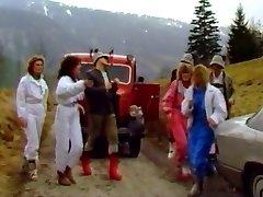 Fuck-a-thon alpin skihaserl asses 1986