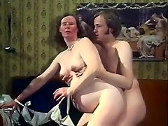 Exotic Amateur clamp with Antique, Stockings scenes