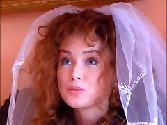 Steamy ginger bride fucks an Indian babe with her spouse