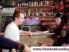 Ultra-kinky female domination police hotties