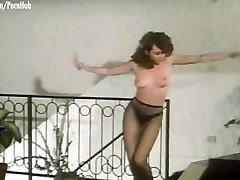 Claudia Cavalcanti bare and Alexandra Delli Colli bare