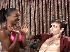 Young Dark-hued Sinnamon Love and Michael J Cox
