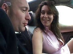 HOT AMATEUR 7 girl fucked in a car