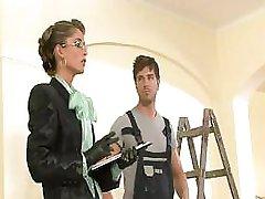 Bride Nessa Devil Checks Painting Progress