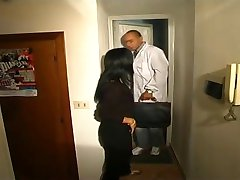 Playing doctor with an italian horny milf