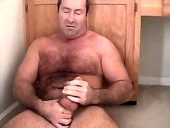 carolina jim musclebear pappa jackoff hårig bringa björn