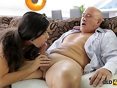 OLD4K. Rough sex for jaw-dropping latina babe.