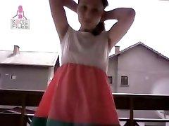 Amateur Teen auf Webcam