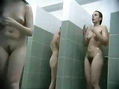 Voyeur public shower