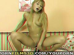 Film porno in 3D - Cutie gode di kinky solo inserzioni