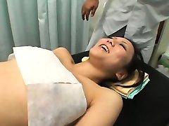 Spycam Adolescente clímax de Massagem