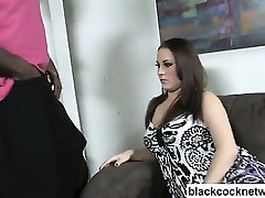 Black cock slut interracial sex
