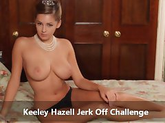 Keeley Hazell Jerk Off Challenge