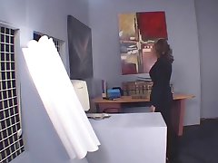 Papa - Hottie gets banged in the office