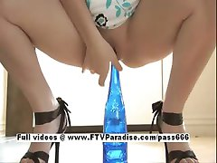 Danielle Tender Bottle In The Pussy