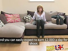FakeAgentUK first anal on camera for petite sexy British amateur