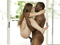 OKNO Malé Mladé Dívce Skye West First Interracial